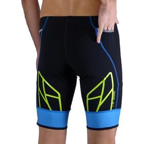 KiWAMi Spider Shorts Unisex black/blue/lime